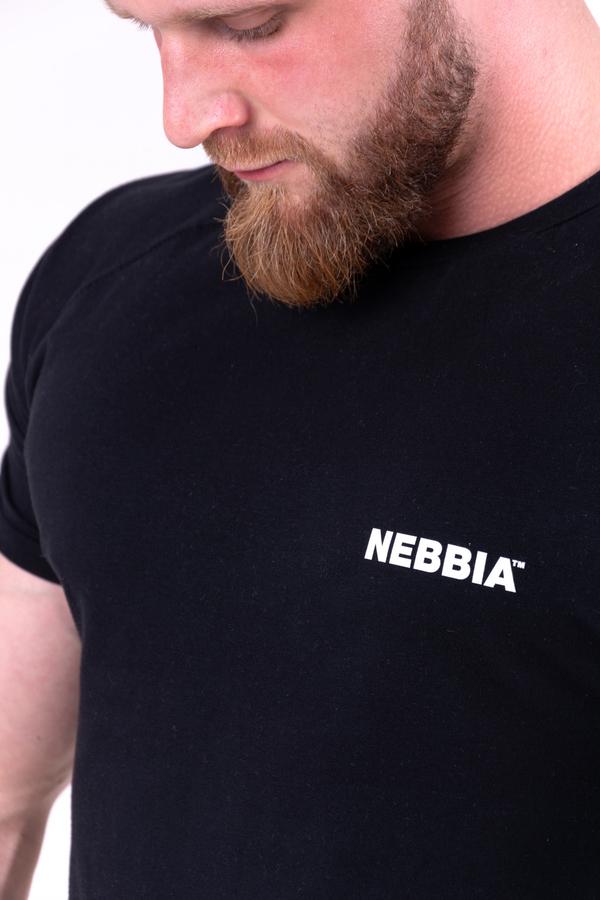 Nebbia Triko 143 90's Hero Pánské Černé, XXL - 7
