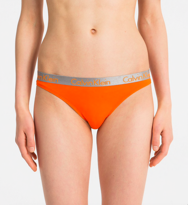 a06ccfaba94 Calvin Klein Tanga Radiant Orange - 1