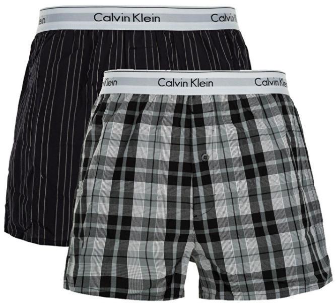 335afa5434 Calvin Klein 2Pack Trenky Vzorované