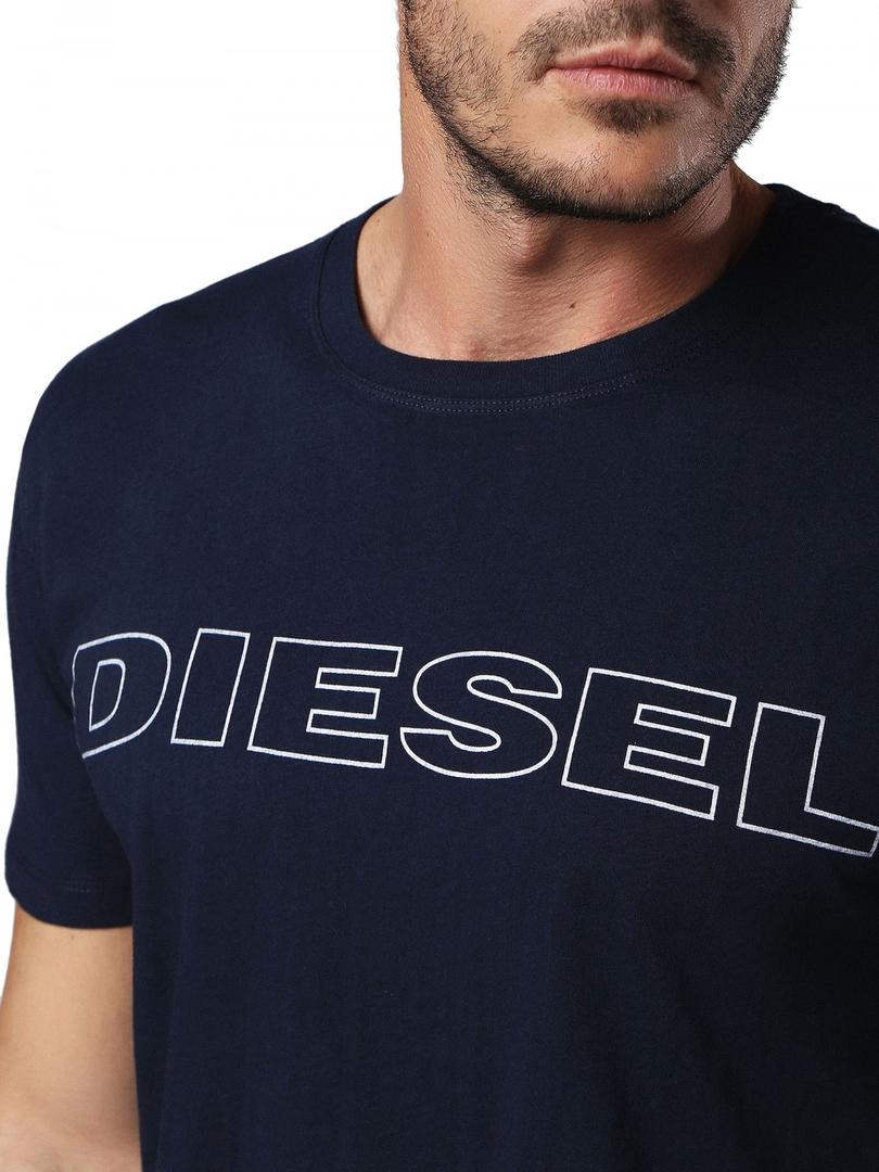 22f9b7274930 Diesel Tričko Pánské Jake Tmavě Modré - 3